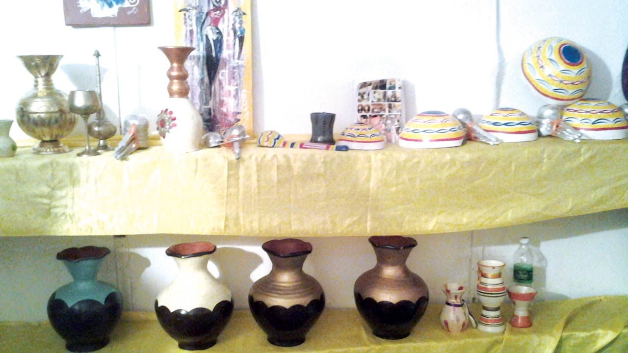 Pottery stand at NAFEST