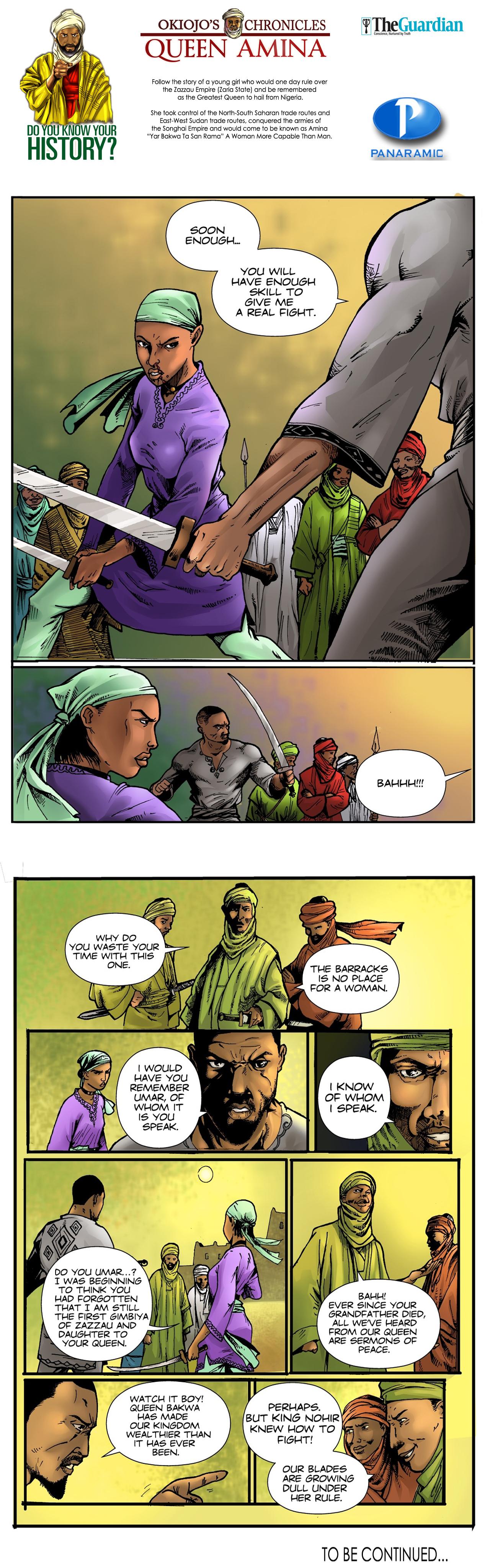 Queen Amina (Part 1) - 8