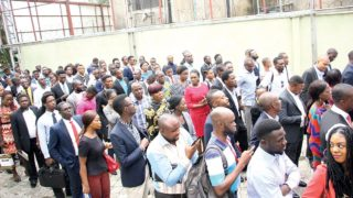Some contestants during the Lagos audition