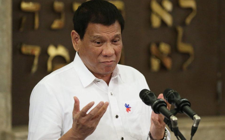 Philippine President Rodrigo Duterte / AFP PHOTO / POOL / Aaron Favila