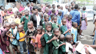 Pupils of public and private schools in Ajegunle community, Lagos State.