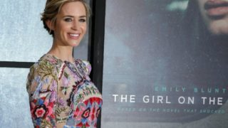 """British actress Emily Blunt attends the World Premiere of the film """"The Girl on the Train"""", in central London on September 20, 2016. PHOTO: AFP Photo/Daniel Leal-Olivas"""
