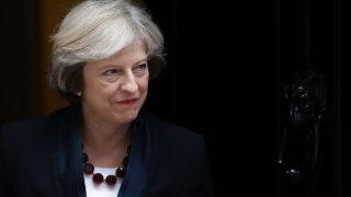 British Prime Minister Theresa May / AFP PHOTO / Daniel Leal-Olivas