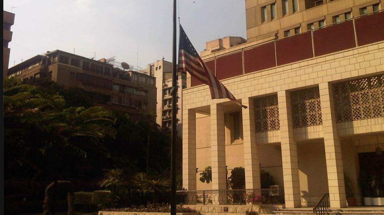 US embassy in Cairo