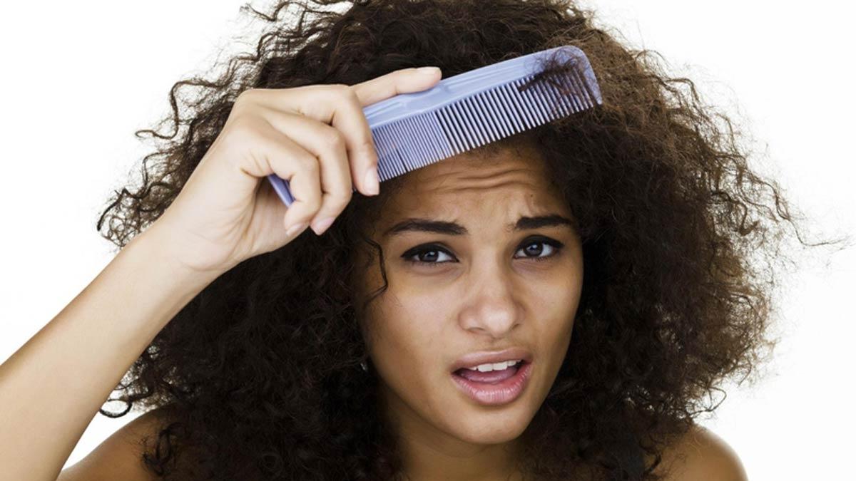Uneven hair