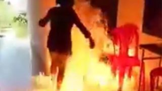 Vietnamese girl sets self alight after trying to burn down school