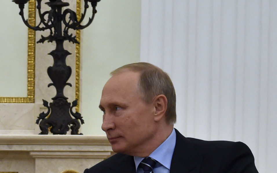Russian President Vladimir Putin / AFP PHOTO / POOL AND AFP PHOTO / Yuri KADOBNOV