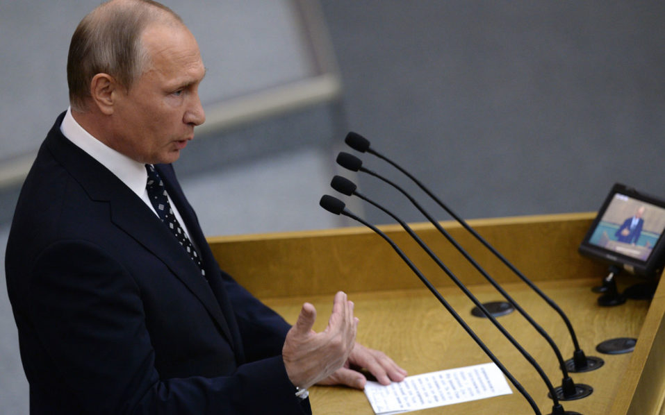 Russian President Vladimir Putin  / AFP PHOTO / POOL AND AFP PHOTO / Natalia KOLESNIKOVA
