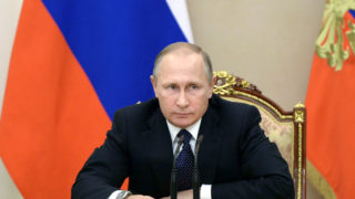 Russian President Vladimir Putin/ AFP PHOTO / SPUTNIK / Aleksey Nikolskyi