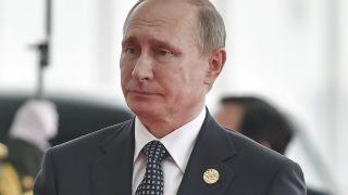 Russian President Vladimir Putin / AFP PHOTO / POOL / Etienne Oliveau /