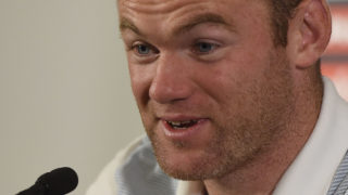 England's striker Wayne Rooney gives a press conference at England's training facility at St George's Park in Burton-upon-Trent, in central England on October 4, 2016, ahead of England's 2018 World Cup qualifying football match against Malta on October 8.  / AFP PHOTO / PAUL ELLIS /