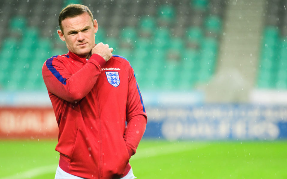 England's striker Wayne Rooney / AFP PHOTO / Jure MAKOVEC