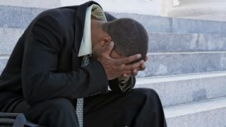 depressed man. PHOTO: healthyblackmen.org1