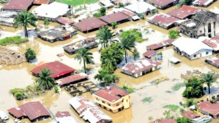 Homes flooded in Nigeria