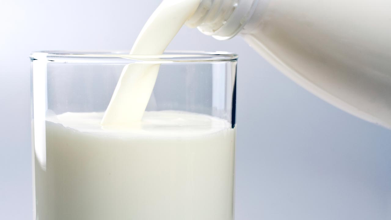 Glass Of Milk...the study reports no significant association between a greater dairy intake and increased values for cardiovascular risk factors, including cholesterol, triglycerides and glucose, where previous studies have typically given contradictory results PHOTO CREDIT: www.cooperaerobics
