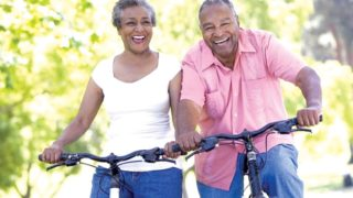 ELDERLY COUPLE...Leading a healthy lifestyle not only extends one's lifespan, but it also shortens the time that is spent disabled - a finding that had previously eluded public health scientists and demonstrates the value of investing in healthy lifestyle promotion, even among the elderly.                                    PHOTO CREDIT: http://www.heelpedia.com/wp