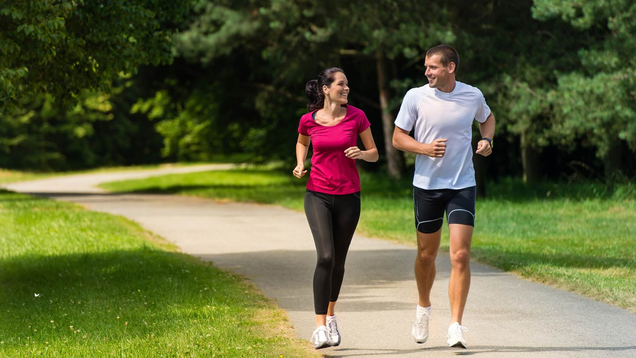RUNNING....Breaking research demonstrates that running in brain-damaged mice triggers the production of a molecule that repairs brain tissue and extends their lifespan. The investigators hope that the findings could lead to innovative treatments for certain neurodegenerative disorders.
