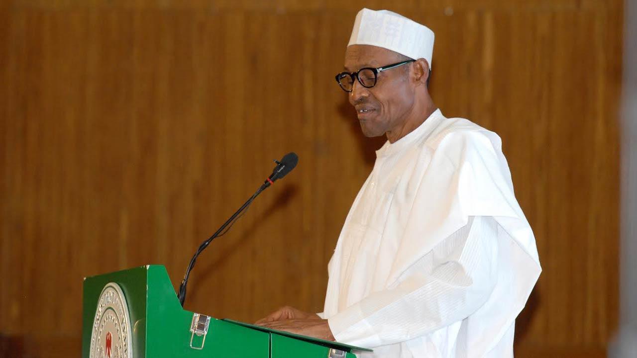 President Muhammadu Buhari. PHOTO: LUCY LADIDI ELUKPO.