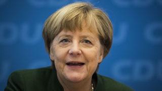 "German Chancellor Angela Merkel   / AFP PHOTO / Odd ANDERSEN / """