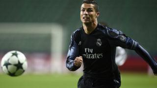 Real Madrid's Portuguese forward Cristiano Ronaldo  / AFP PHOTO / ODD ANDERSEN