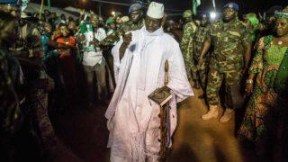 Incumbent Gambian President Yahya Jammeh. PHOTO: MARCO LONGARI / AFP