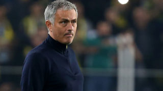 Manchester United's Portuguese head coach Jose Mourinho/ AFP PHOTO / STR