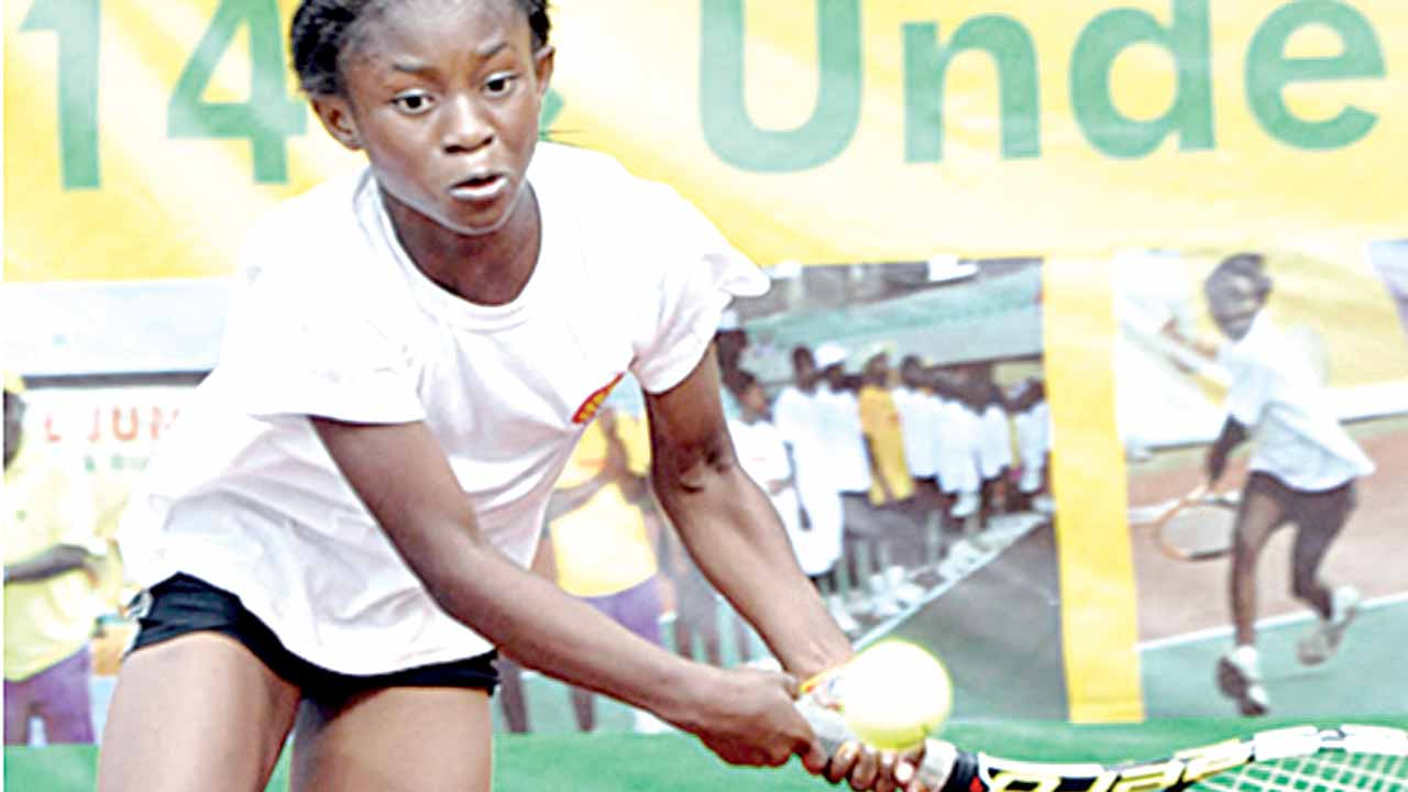 Teen sensation, Marylove Edwards, wants to surpass the achievements of her idol, Serena Williams.