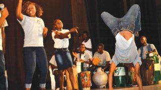 Performance at the Lagos@50 fifth Colloquium                                                                                                                                                           PHOTOS: GABRIELIKHAHON
