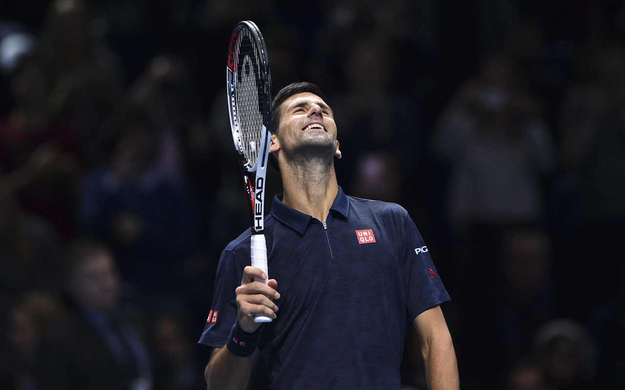 Novak Djokovic / AFP PHOTO / Glyn KIRK