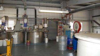 Paint manufacturing plant