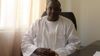 Gambia's President-elect Adama Barrow. AFP PHOTO / SEYLLOU