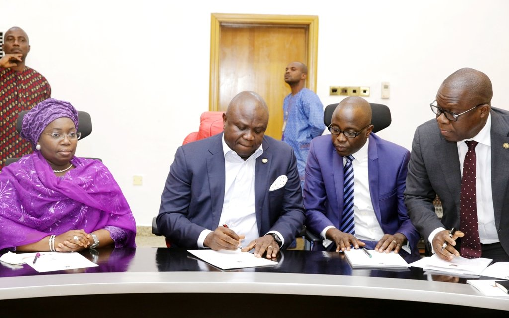 Ambode tasks auditors on rules, economic recovery