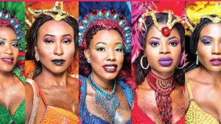 Representatives of the five Carnival Calabar Bands.