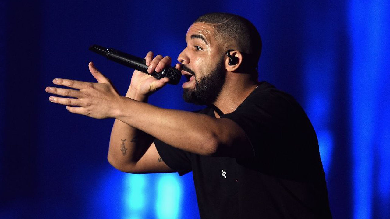 Drake PHOTO: AFP Photo/Kevin Winter