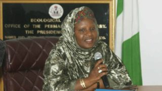 Dr Habiba Lawal, the Permanent Secretary, Ecological Fund Office