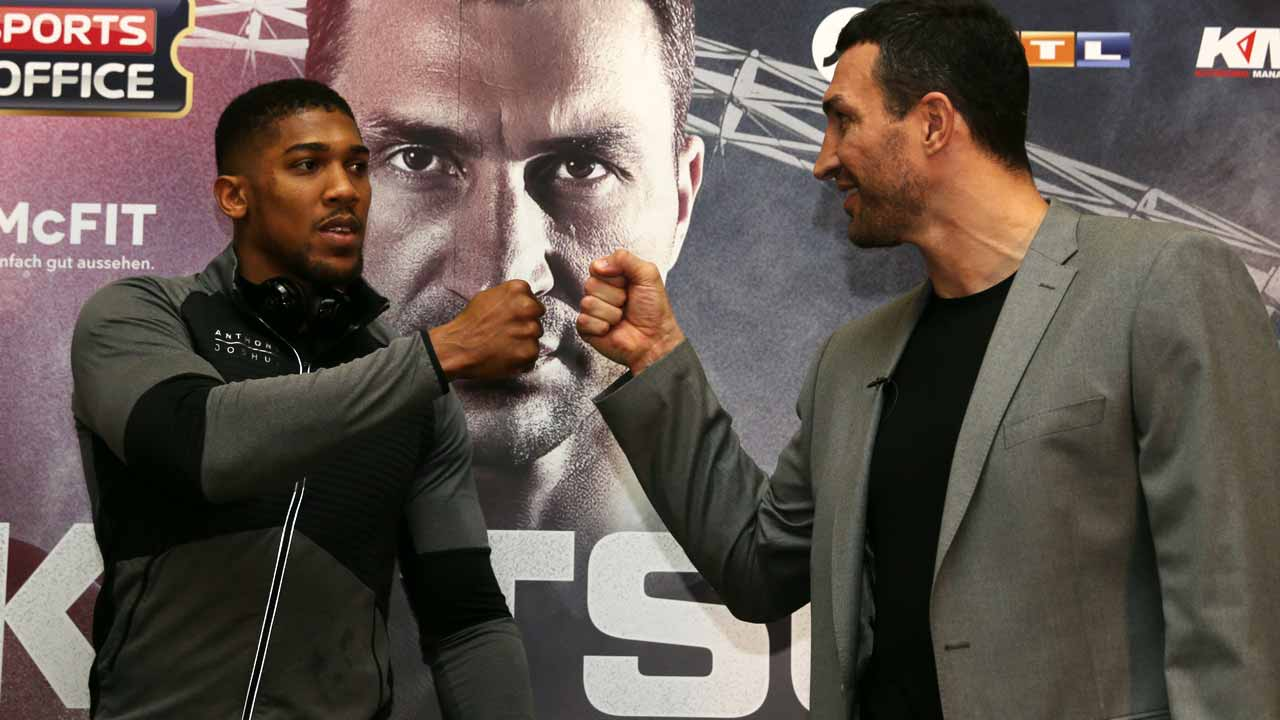 Joshua could see best and last of Klitschko