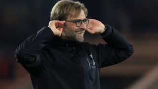 Liverpool's German manager Jurgen Klopp  / AFP PHOTO / Lindsey PARNABY /