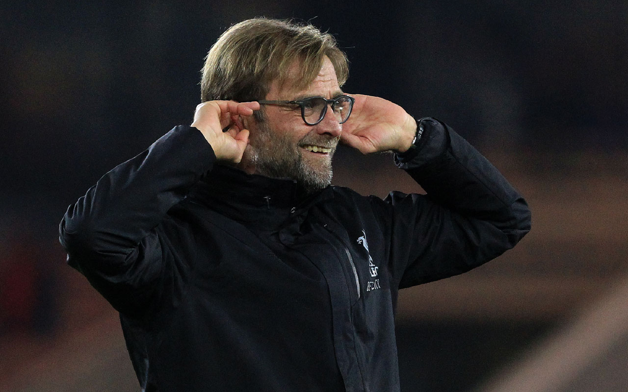 Liverpool's German manager Jurgen Klopp  / AFP PHOTO / Lindsey PARNABY /