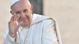 Pope Francis    / AFP PHOTO / ANDREAS SOLARO