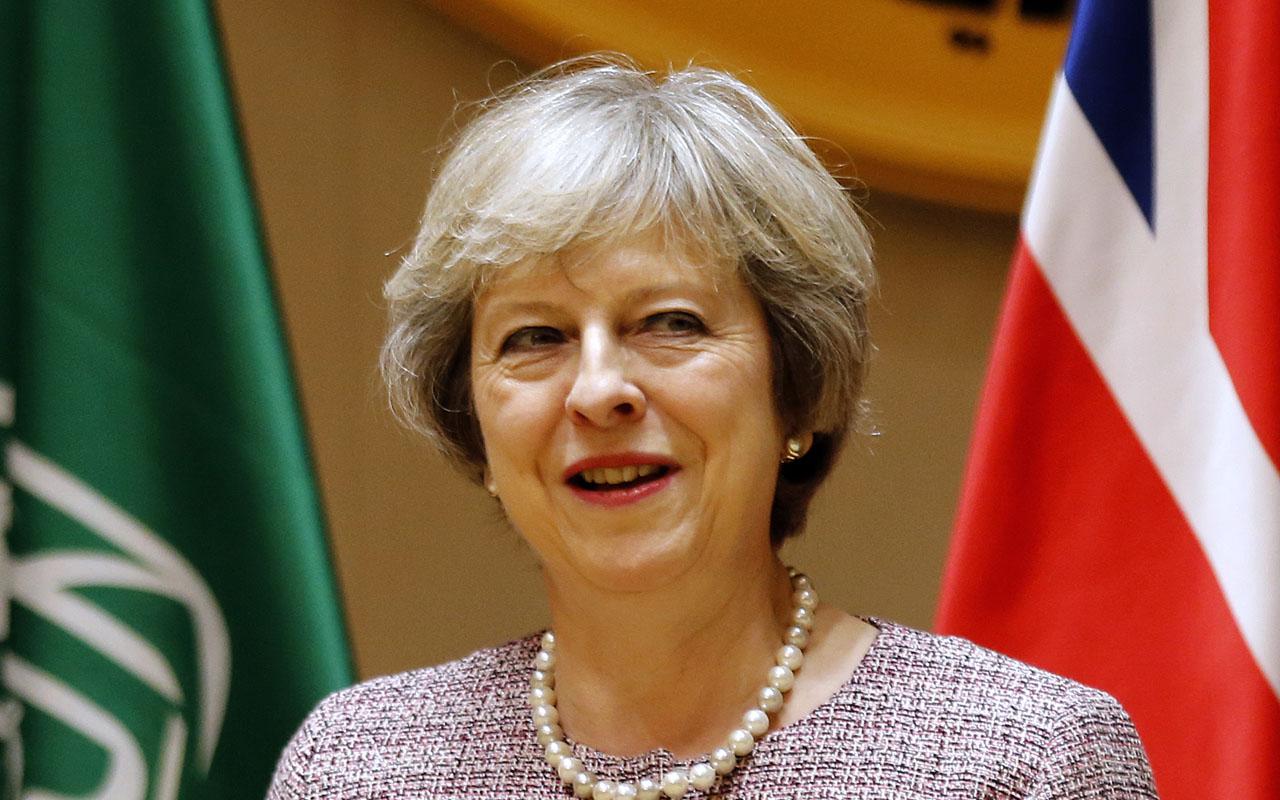 British Prime Minister Theresa May / AFP PHOTO / STRINGER