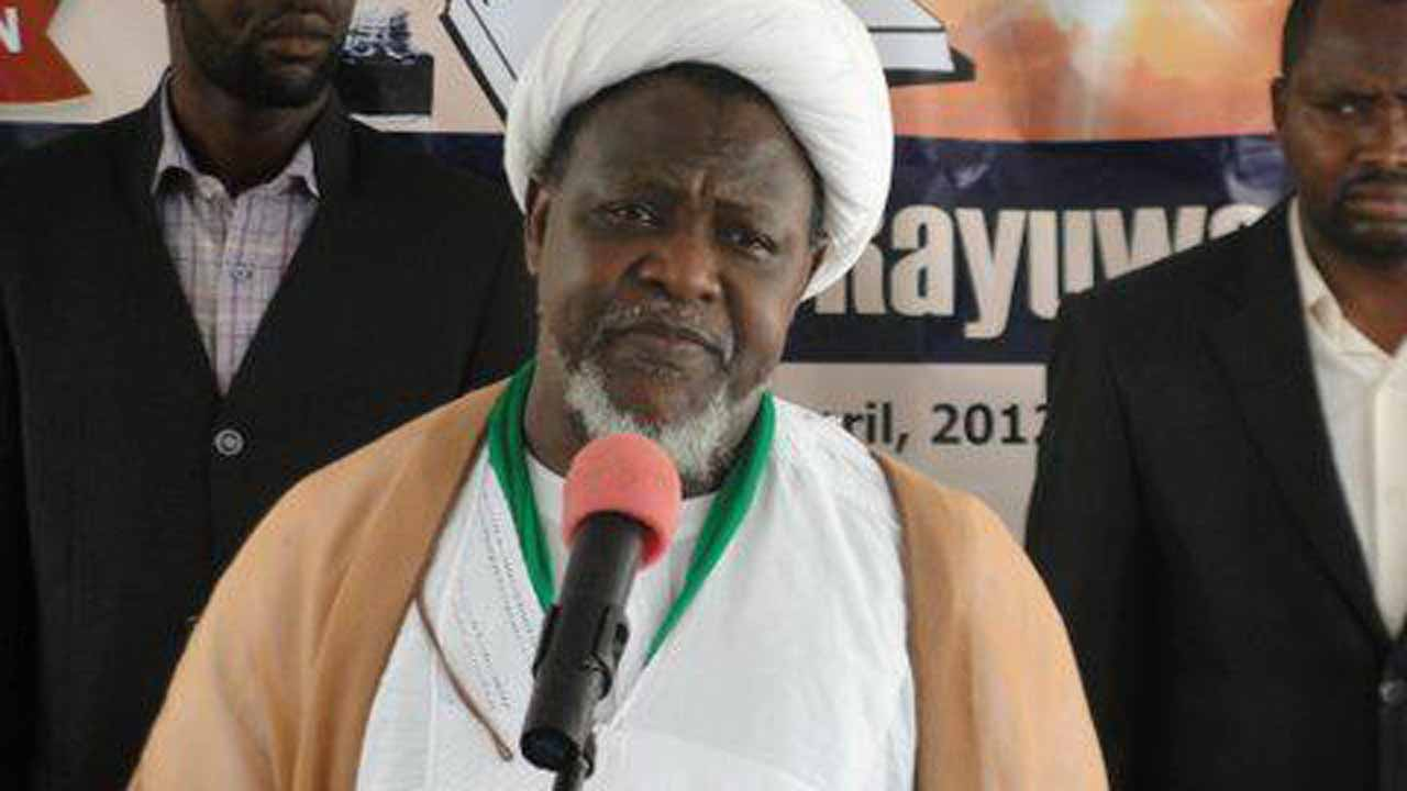 The leader of Islamic Movement of  nigeria otherwise known as Shi''te, Ibrahim El-Zakzaky