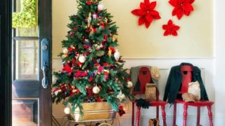 Christmas decorative ideas by floral artist Brian Patrick Flynn