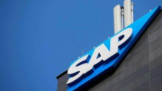 The logo of German software group SAP is pictured in Vienna, Austria, July 25, 2016. REUTERS/Leonhard Foeger/File Photo