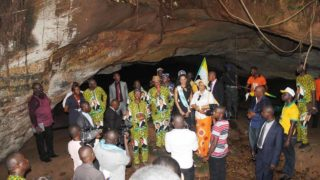 Governor Obiano at the Ogbunike Cave Carnival