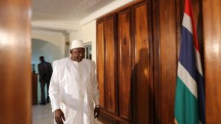 Gambian president-elect Adama Barrow