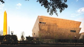 Yoruba sculpture-inspired design of National Museum of African American History and Culture, in Washington, U.S.