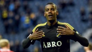 Teenage forward Alexander Isak -- dubbed the heir to Zlatan Ibrahimovic -- became the youngest Swedish international in more than a century when he came on as a substitute in a 2-1 friendly defeat to Ivory Coast on Sunday.