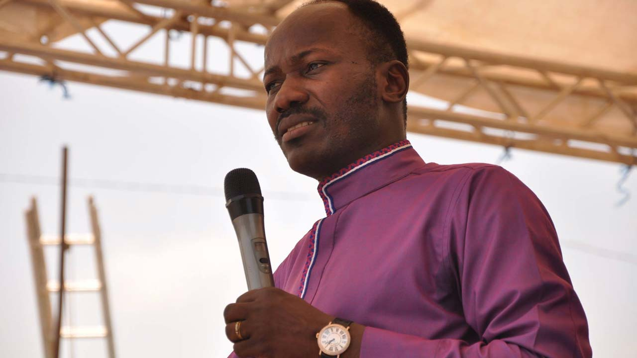 I stand by my words, Apostle Suleman insists