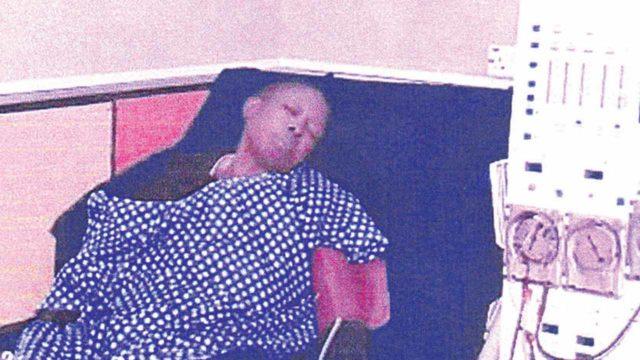 Olumodeji on sick bed