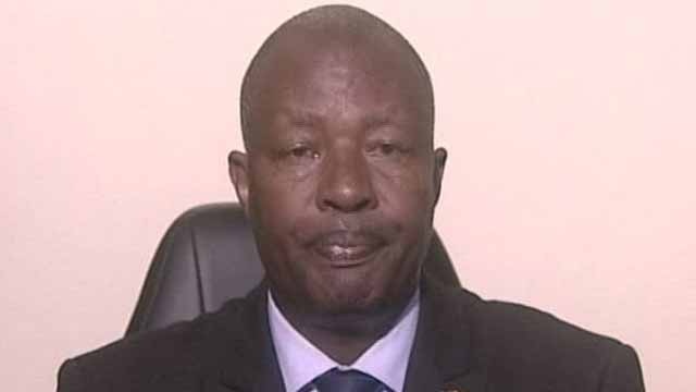 Burundi's Environment Minister Emmanuel Niyonkuru